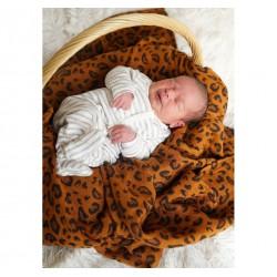 Kokadi coperta per bambini Safari