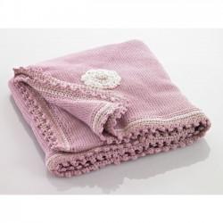 Pebble coperta per bambini Rosa