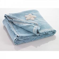 Pebble coperta per bambini Blu