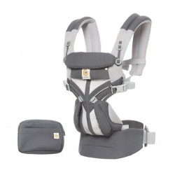 Marsupio Ergobaby Omni 360 Cool Air Mesh Carbon Grey