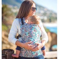 Beco Toddler Marsupio Geometric Teal Blue