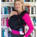 Easy Emeibaby Carrier Full Black - Baby