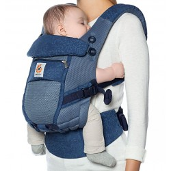 Marsupio Ergobaby Adapt Cool Air Mesh Blue Bloom
