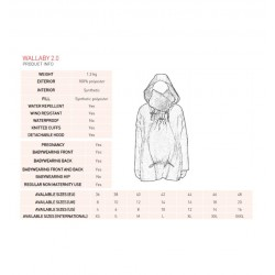 Wombat & Co Wallaby 2.0 Grey & Black