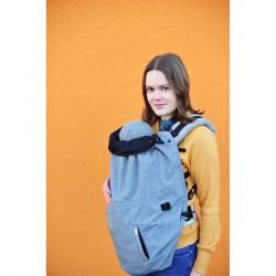 MaM Ultra Plus 2 in 1 Flex Cover - Heather Grigio-Nero