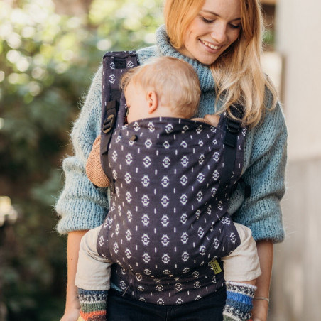 Easy Emeibaby Carrier Leaves Rainbow - Baby