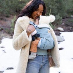 Ergobaby Omni 360 Heritage Blue - marsupio neonato