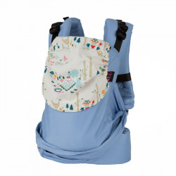 Easy Emeibaby Full Bright Blue Party - marsupio