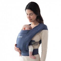 Ergobaby Embrace Soft Navy - marsupio neonato