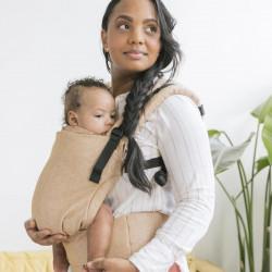 Tula Linen Free to Grow Mesa marsupio neonato