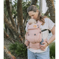 Tula Explore Linen Mango - marsupio neonato
