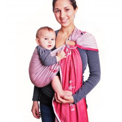 HOPPEDIZ Ring Sling Los Angeles Grigio