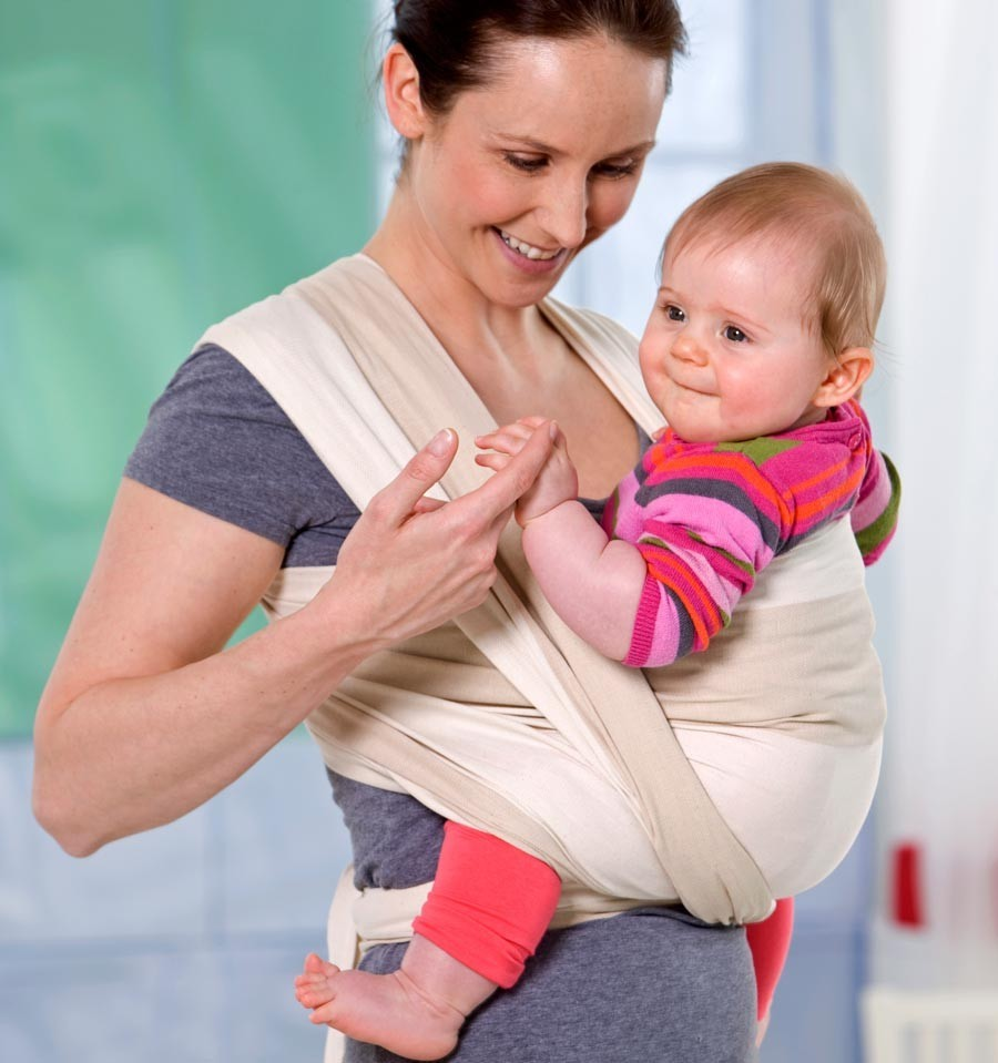 Carry sling kalahari fascia porta beb amazonas - Marsupio porta bambole ...