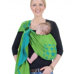 HOPPEDIZ Ring Sling New York Turchese