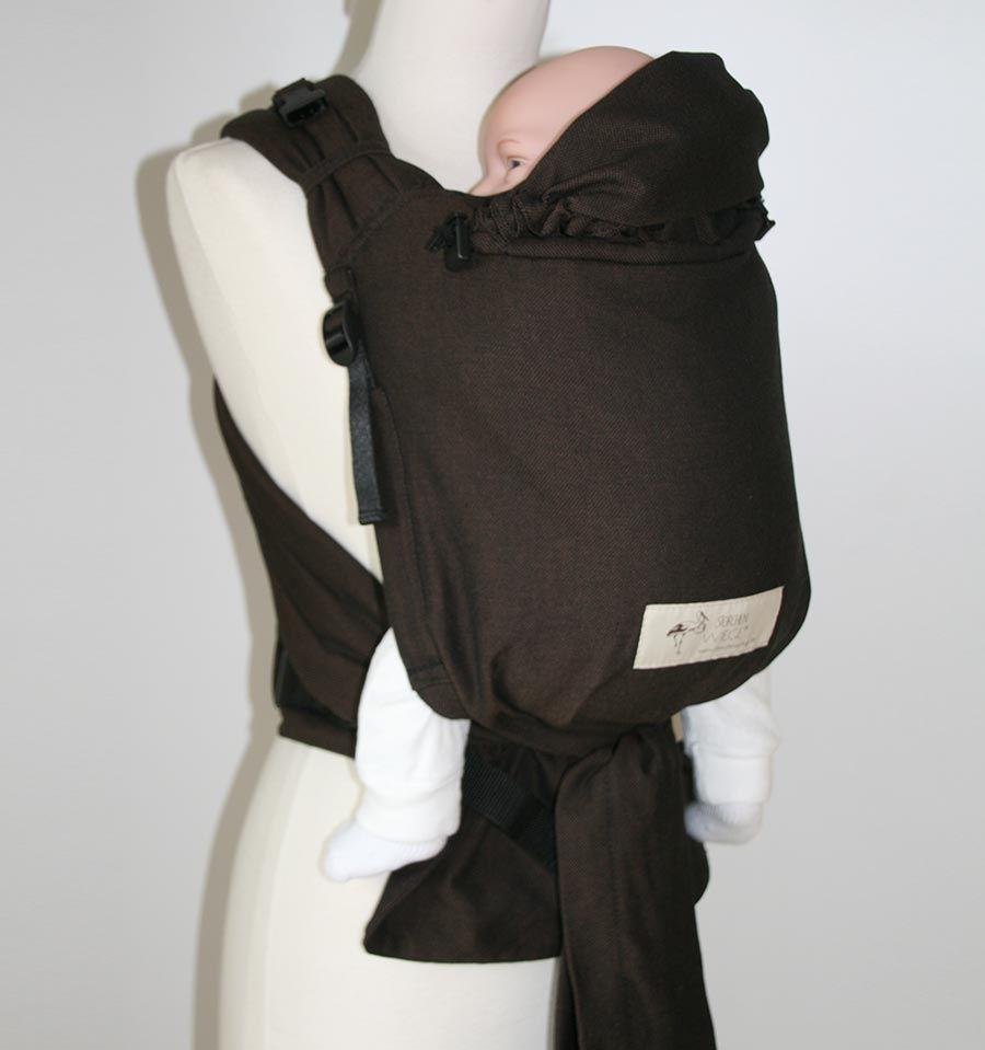 Storchenwiege babycarrier chocolate - Marsupio porta bambole ...
