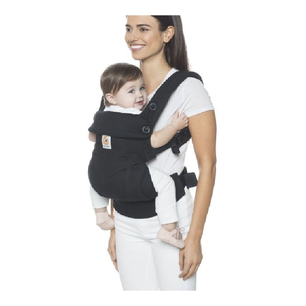 6570f4ac3eb Ergobaby 360 Sunrise Four Position Carrier Pure Black